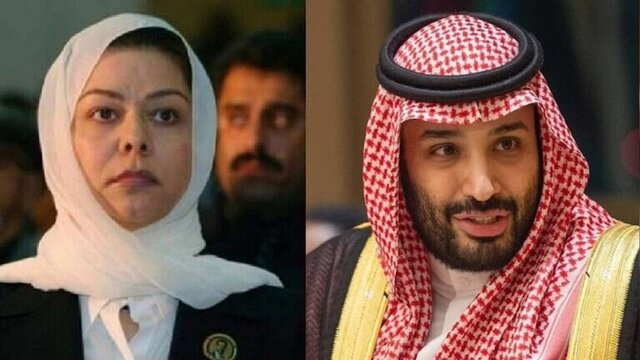 دختر صدام به خبر دیدارهایش با محمد بن سلمان واکنش نشان می دهد
