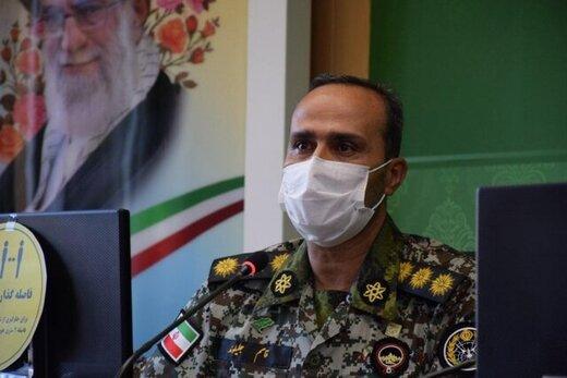 یک فرمانده ارشد ارتش در اثر بیماری کرونر قلب درگذشت