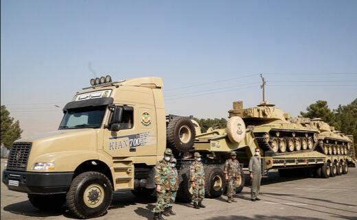 این دستاوردهای نظامی قدرت ارتش ایران را افزایش داده است / بالهای تانک های ایرانی را در میدان جنگ ببینید