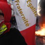 در عکسها: معترضین فرانسوی با پلیس درگیر می شوند  فرانسه