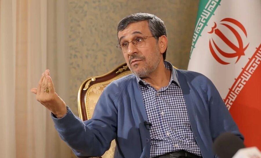 مصاحبه احمدی نژاد با شبکه چینی / رای بایدن به معنای گشودن درهای اقتصادی نیست