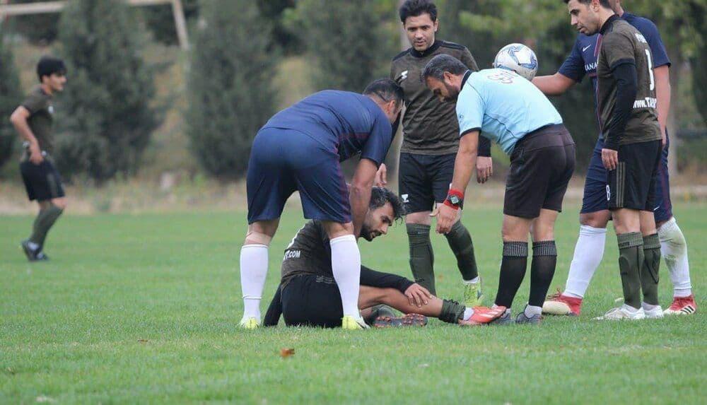 آنها محمد حسین میثاقی را به شدت کتک زدند!  عکس  آخرین خبرها