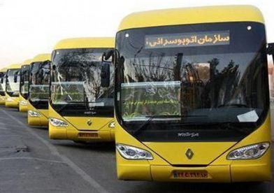 کاهش زمان استفاده از اتوبوس های شهری اهواز  آخرین خبرها