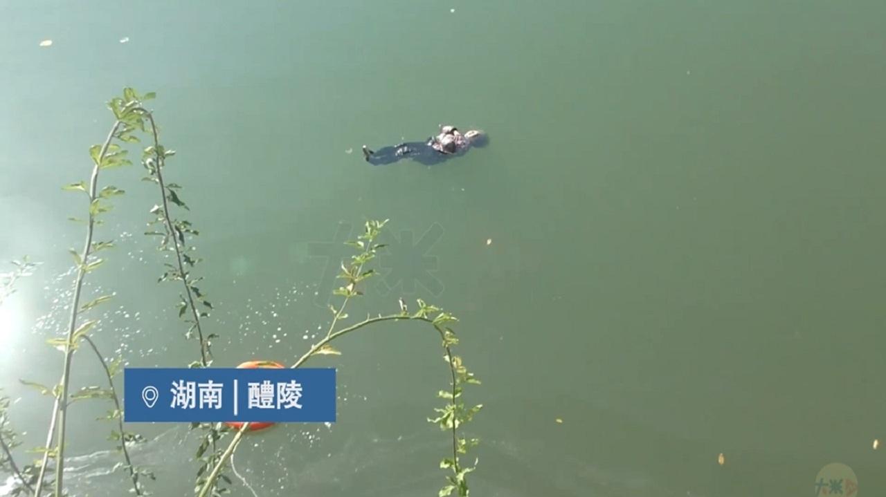 مهارت یک زن 87 ساله او را از رودخانه نجات داد!