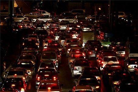 تصویر شگفت انگیز و باورنکردنی از ترافیک سنگین در بزرگراه کازوین