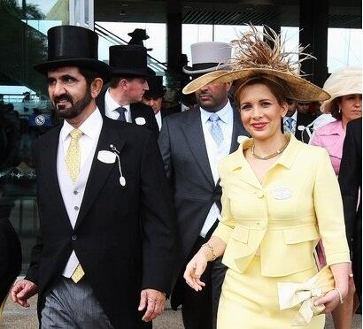 افشای رابطه بین همسر حاکم دبی و نگهبان انگلیسی