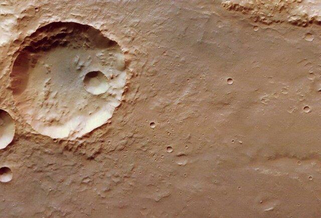 تصاویر جدید از دهانه های سطح مریخ  آخرین خبرها