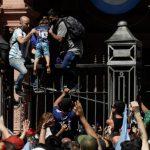 مراسم خاکسپاری مارادونا به دلیل افزایش تنش متوقف شد  آخرین خبرها