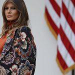 مانتو پاییزی شیک ملانیا ترامپ  آخرین خبرها
