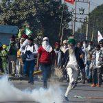 در عکس ها: کشاورزان عصبانی از هند علیه قوانین طرفدار بازار راهپیمایی می کنند  هند