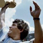 اسطوره فوتبال دیگو مارادونا به یاد آورد