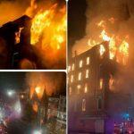 کلیسای تاریخی نیویورک در آتش  آخرین خبرها