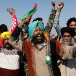 کشاورزان هندی قول ادامه اعتراضات را می دهند
